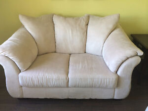 Suede Couch & Loveseat Windsor Region Ontario image 2