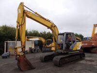 Kobelco SK130 MK5 excavator/digger