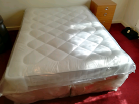 Dreams Double bed, still in wtapping