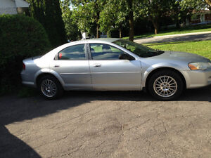 Chrysler sebring touring 2005 v6 2.7L.