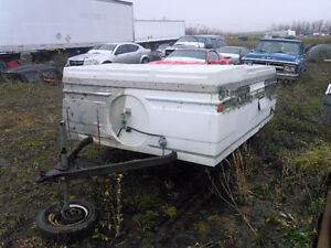 Tent Trailer or Convert to Utility Trailer $360.00 OBO