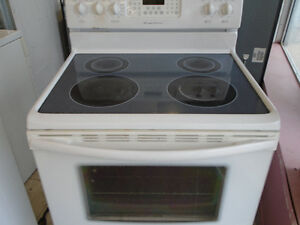 GE FRIDGE FRIDAIRE SMOOTH TOP STOVE CAN DELEVERY