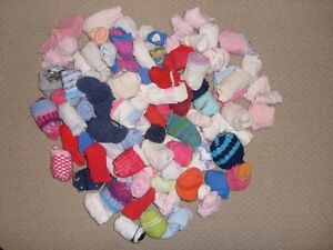 Socks for Young Children (approximately infant to 5-6 year old)
