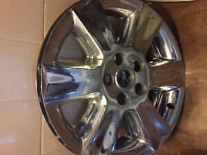 Two wheel covers for 19 inch rims - dodge journey