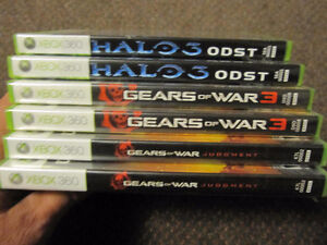 XBox 360 Games - Gears...3, Gears ... Judgment, Halo 3 - ODST Kitchener / Waterloo Kitchener Area image 8