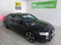 BLACK AUDI A4 2.0 TDI S LINE BLACK EDITION ***FROM £290 PER MONTH***