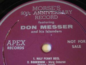 Record, Don Messer & his Islanders ; a J.E. MORSE 90th Annivery