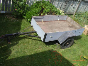utility trailer,, 4 feet by 7 feet