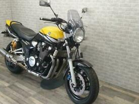 2003 (03) YAMAH XJR1300 FINISHED IN YELLOW WITH 36185 MILES.