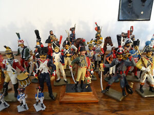 COLLECTION SOLDATS DE PLOMB ARMÉE DE NAPOLEON + DE 45