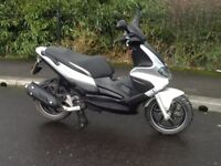 Gilera runner st 125cc scooter 13 plate, May delivery