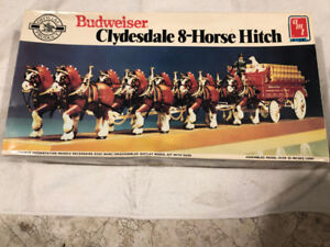 BUDWEISER CLYDESDALE 8-HORSE HITCH MODEL AMT