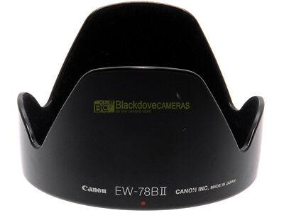 Canon EW-78B II paraluce originale per 28/135mm. f3,5-5,6. EW78b II