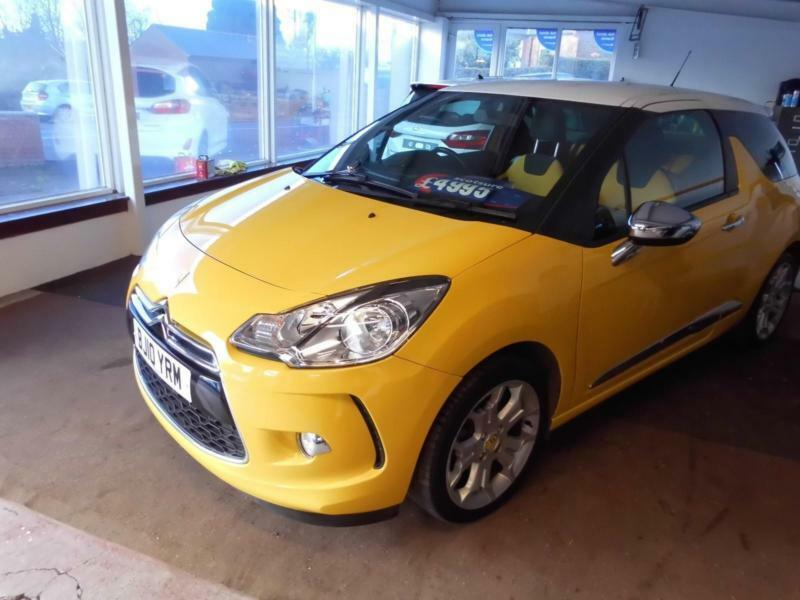 Citroen DS3 1.6THP ( 150bhp ) DSport 2010 PETROL MANUAL