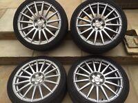 """5x112 ronal 18"""" wheels vw, seat, Audi"""