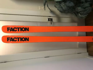 186cm Faction Dictator 3.0 All Mountain Freeride Skis