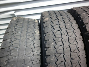 Tires - Firestone Destination P265/75 R16