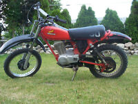 smooth running rebuilt 1982 Honda XR80