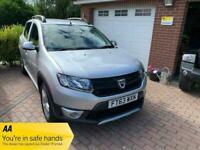 2014 Dacia Sandero SANDERO STEPWAY AMBIANCE TCE - 1 OWNER & FSH HATCHBACK Petrol