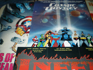 COMIC BOOK  POSTERS for Sale Cornwall Ontario image 6
