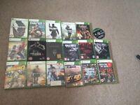 30 XBOX 360 GAMES BUNDLE £50 ono