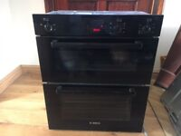 Bosch Double Oven HBN13B261B 4.9kw 20A Cooker RRP £650