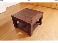 Walnut Coffee Table (£2)