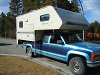 """1992 Security Timberline 8'9"""" camper - Excellent condition!"""