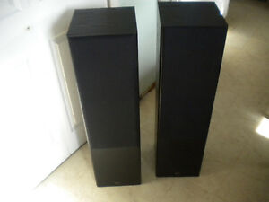 2 Prolinear PL3.6 Towers and PL3.4 Center Speakers