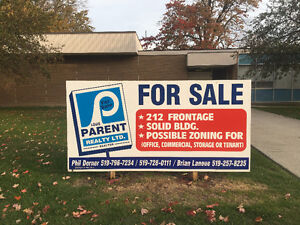 PRIME COMMERCIAL 6600 SF. BUILDING IN THE TOWN OF STONEY POINT Windsor Region Ontario image 1
