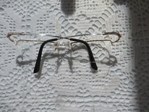 Gold rimmed glasses frames