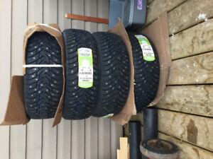 185-65-R14 Brand new studded winter tires. Nokian