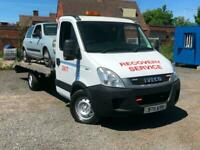 2011 IVECO DAILY RECOVERY TRUCK--2.2 DIESEL MANUAL-- AIR SUSPENSON