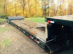 Lowboy tandem detachable neck