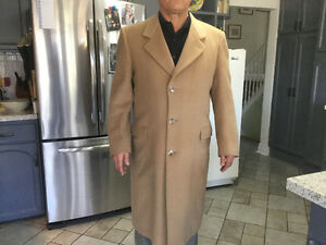 Deluxe cashmere full length coat
