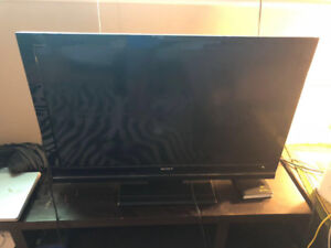 "Sony 40"" BRAVIA V Series LCD TV and TV Stand"