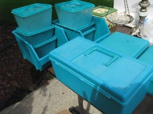 Storage Containers, Bins, Tool Box - Various Sizes