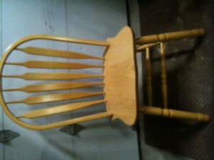 4 Wooden chairs in great condition