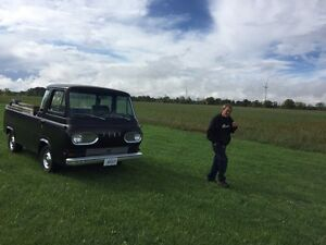 Rare 1963 Ford Econoline pick up truck five window