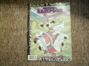 4 (FOUR) VINTAGE  NATIONAL LAMPOONS MAGAZINES