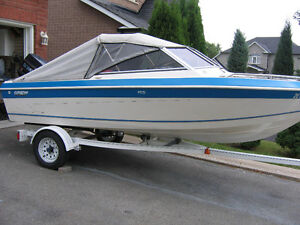 ***WOW-15.5FT GREW BOWRIDER WITH 60 HP EVINRUDE OUTBOARD***