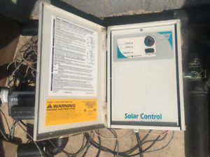 Pool Solar Control and 3 way valve