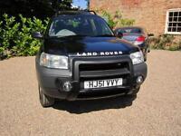 2001/51 Land Rover Freelander 2.0 Diesel Td4 ES 5 Door 4x4 BLACK METALLIC