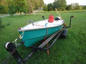 Every thing you need to start fishing, at the cottage.