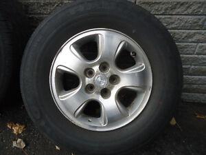 "Mazda original 16"" mags West Island Greater Montréal image 1"
