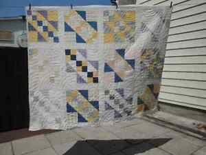 Grandmothers old quilt Peterborough Peterborough Area image 1