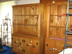 Pine Double Hutch Cabinet Windsor Region Ontario image 2