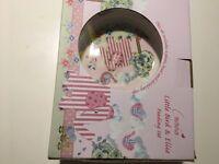 Baby girl gift set- feeding set gift box