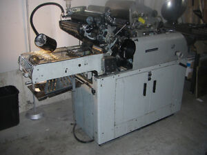 1250 Multi Offset Press with T51 Colour Head - For Sale