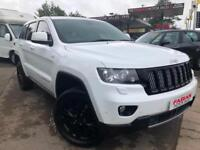 2013 Jeep Grand Cherokee V6 CRD Limited - White 1 Owner - FSH